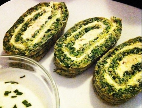 Savory Spinach Rolls