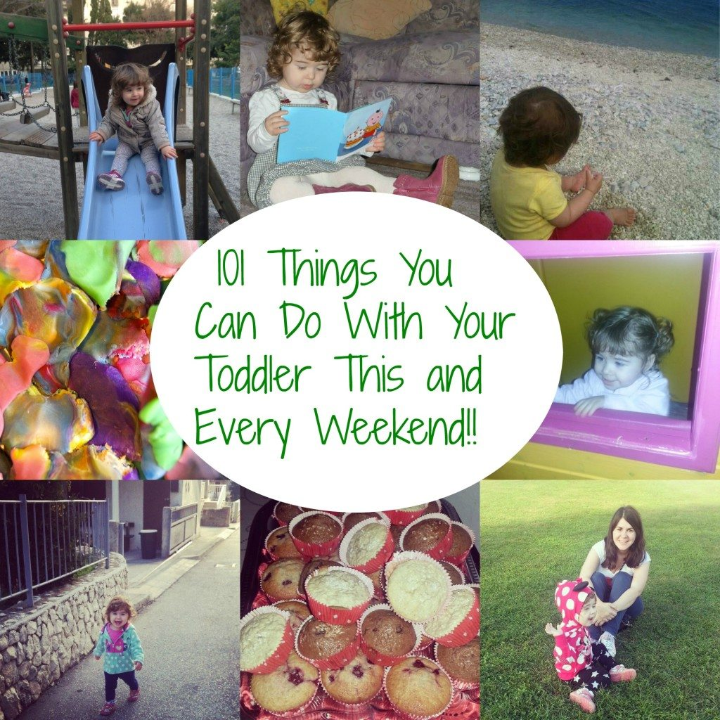 fun things to do with toddlers