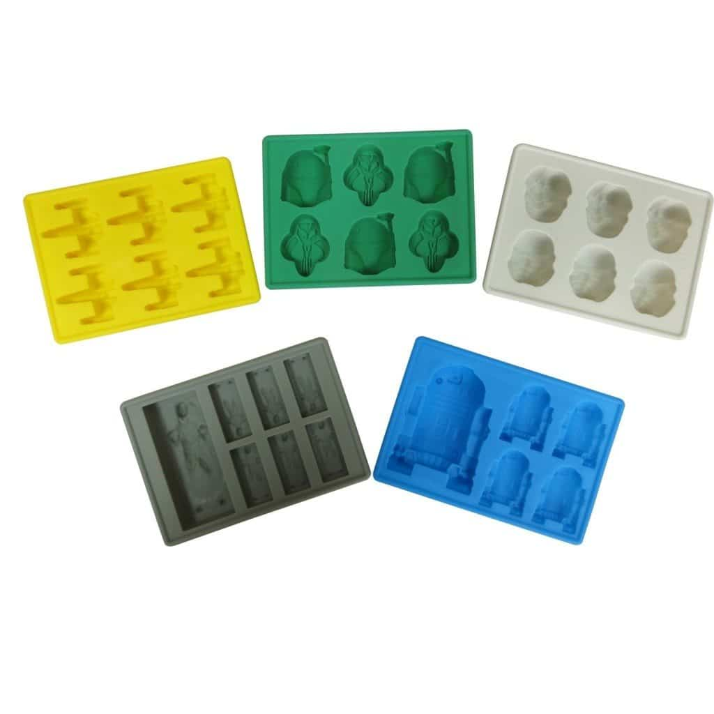 Silicone Star Wars Theme Style Molds for Ice Cubes