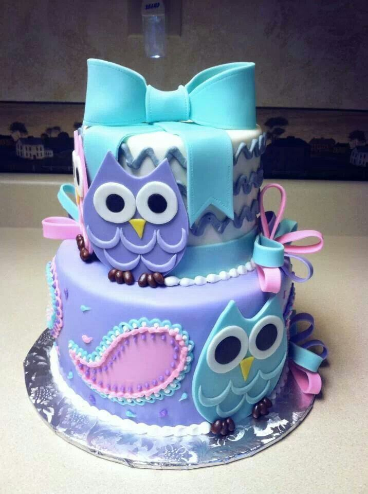 15 Most Amazing Owl Birthday Cakes Parental Journey