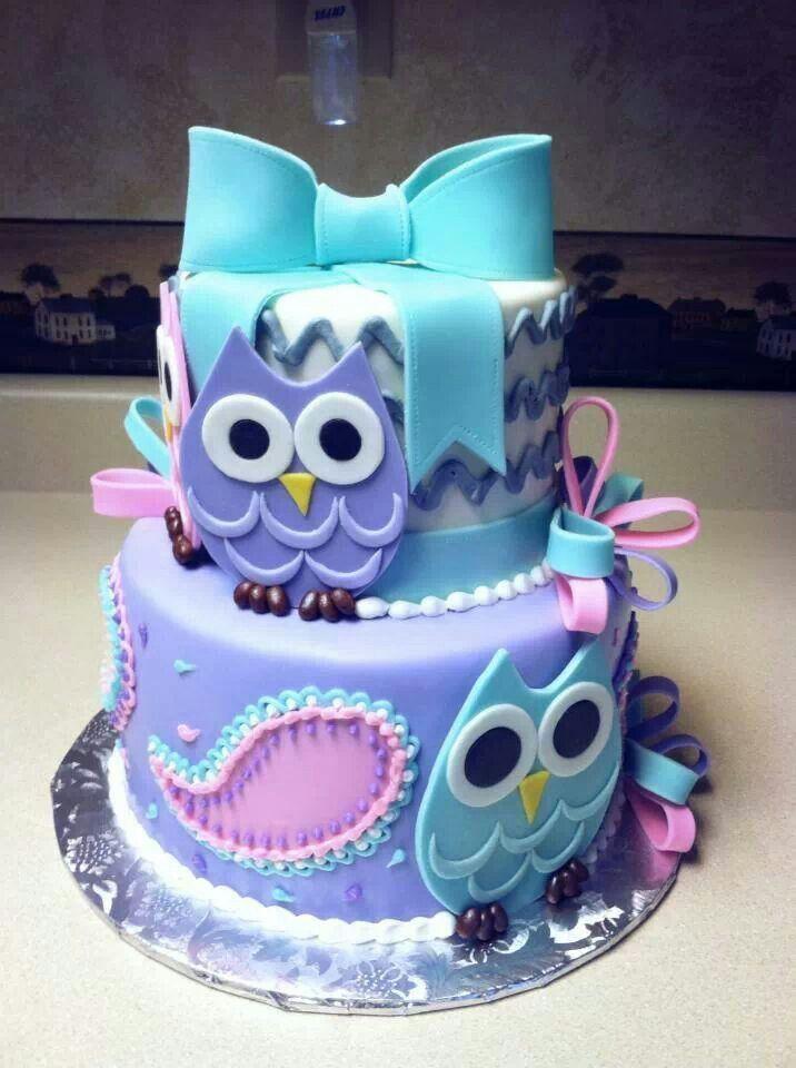 15 Most Amazing Owl Birthday Cakes Parental Journey