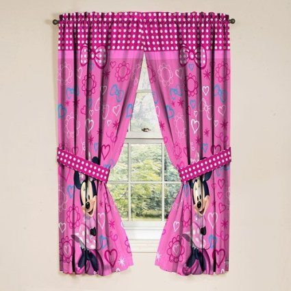 Pink decor for a girls bedroom that you can buy online for Where can i buy curtains online