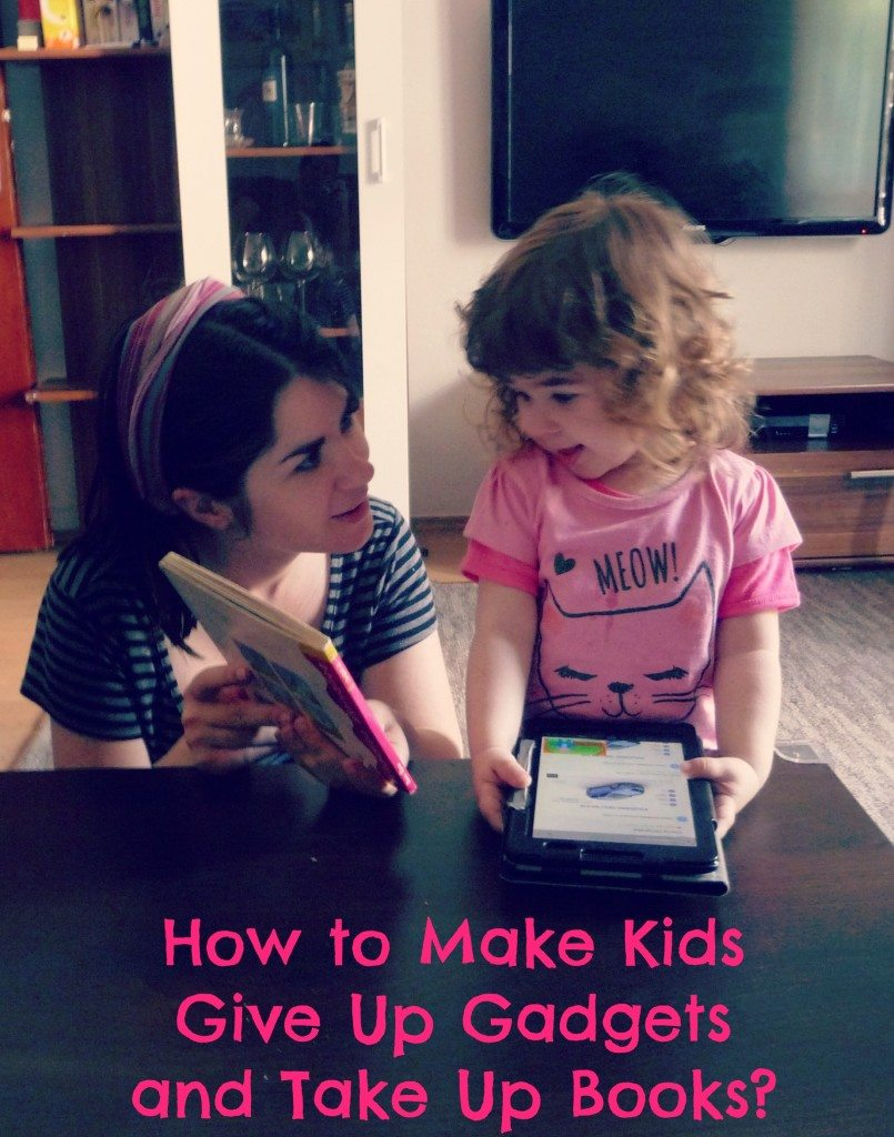how to make kids give up gadgets and take up books