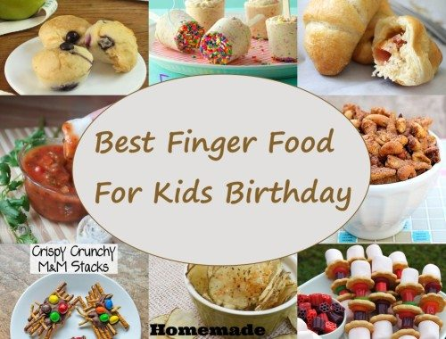 FINGER FOOD