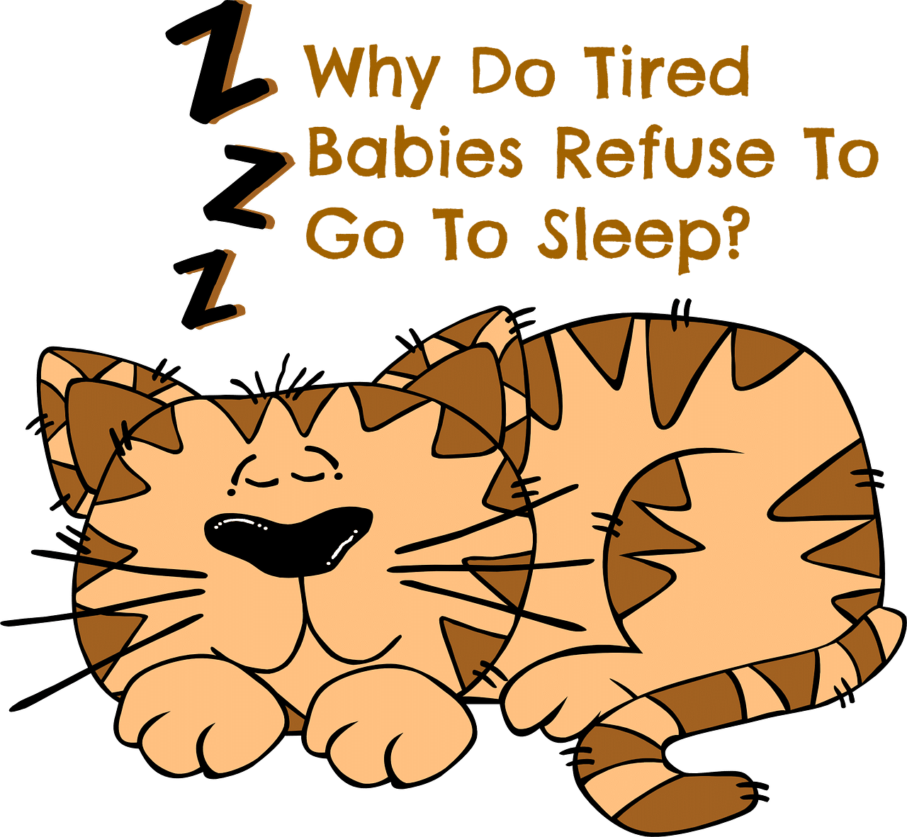Why Do Tired Babies Refuse To Go To Sleep