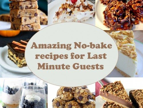No-Bake Recipes