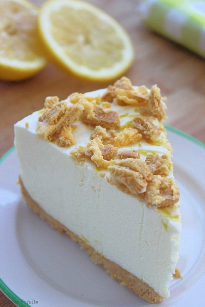 Triple Lemon Oreo Cheesecake