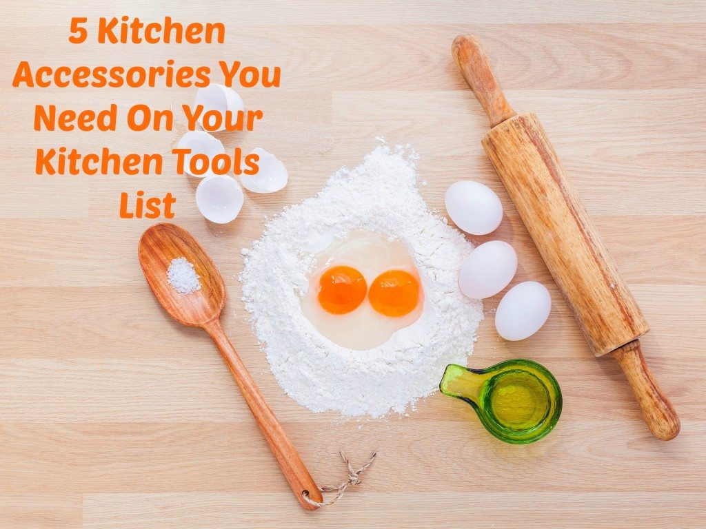 Kitchen Tools List