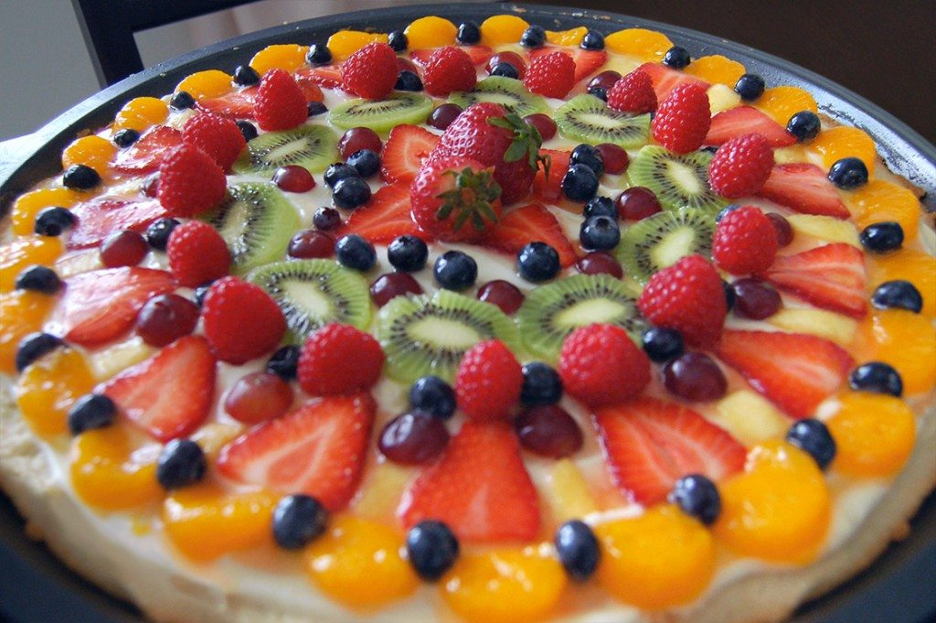 12 fruit pizza