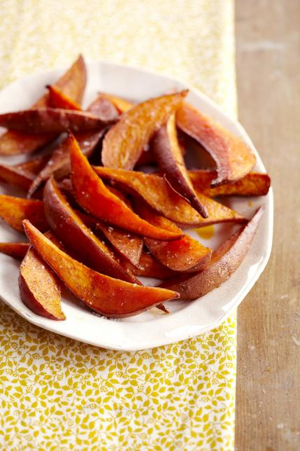4 baked sweet potato fries