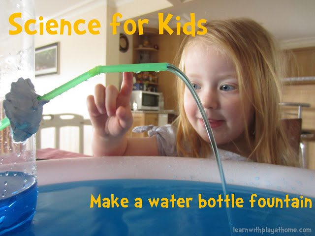 Water Bottle Fountain