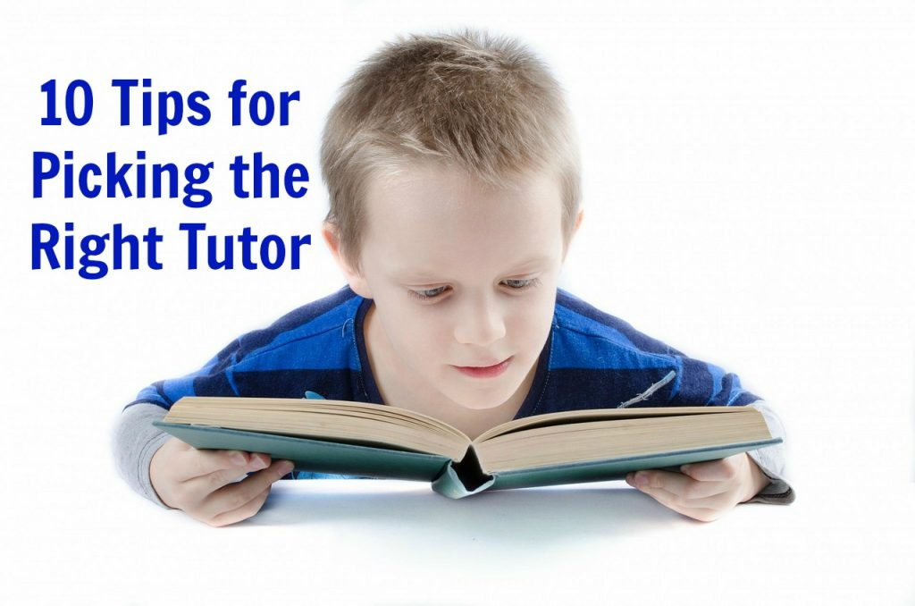 tips for finding a tutor