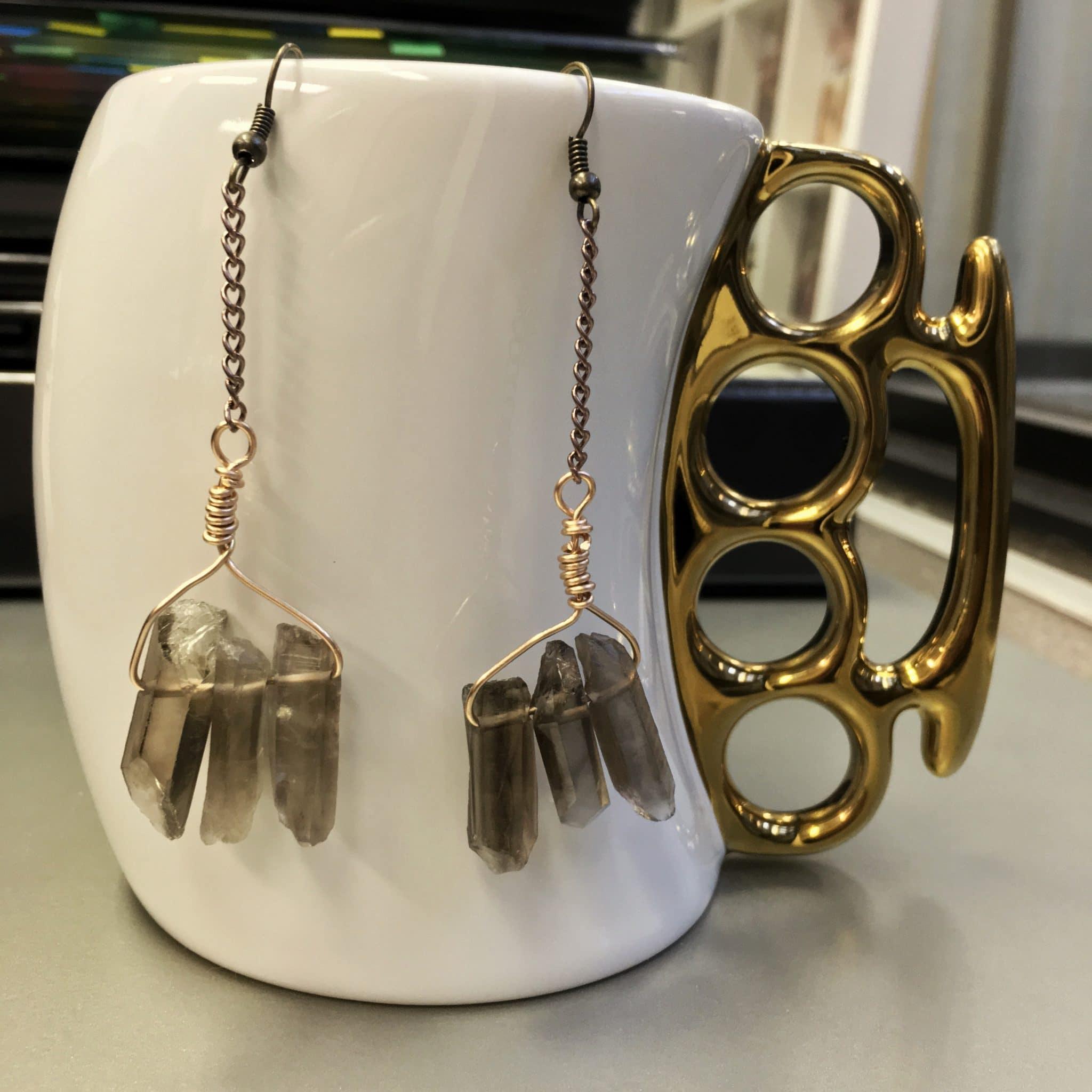 Semiprecious Healing Stones in Handmade Jewelry on etsy