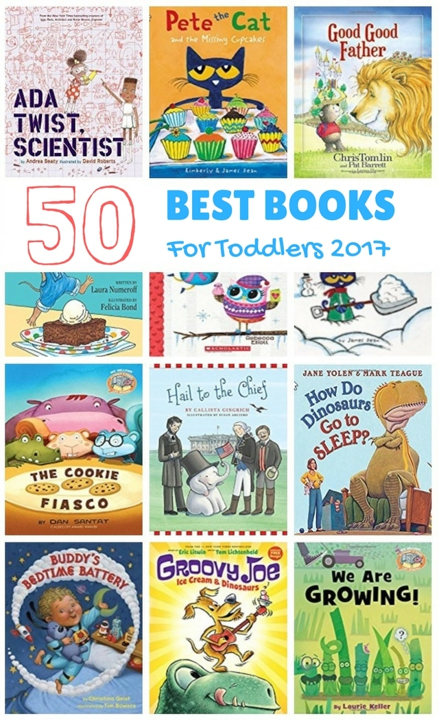 50 best books for toddlers 2017 - children's books 2017