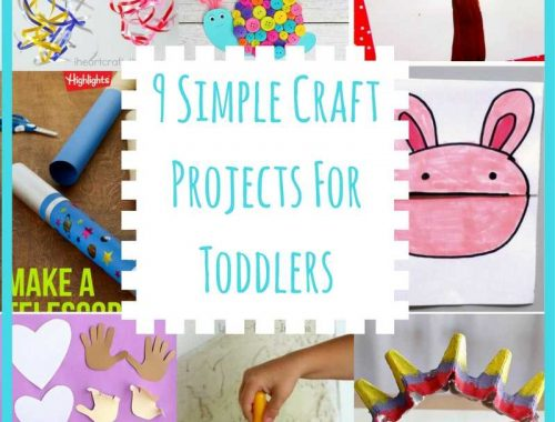 9 Simple Craft Projects For Toddlers