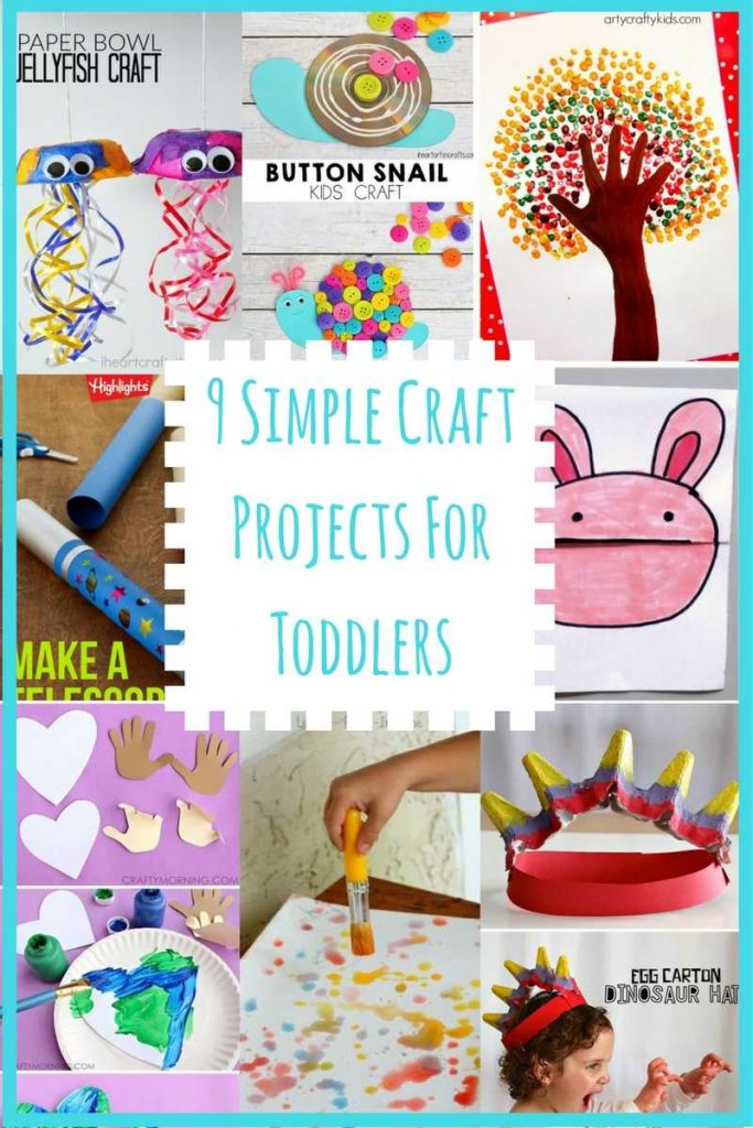 9 simple craft projects for toddlers parental journey