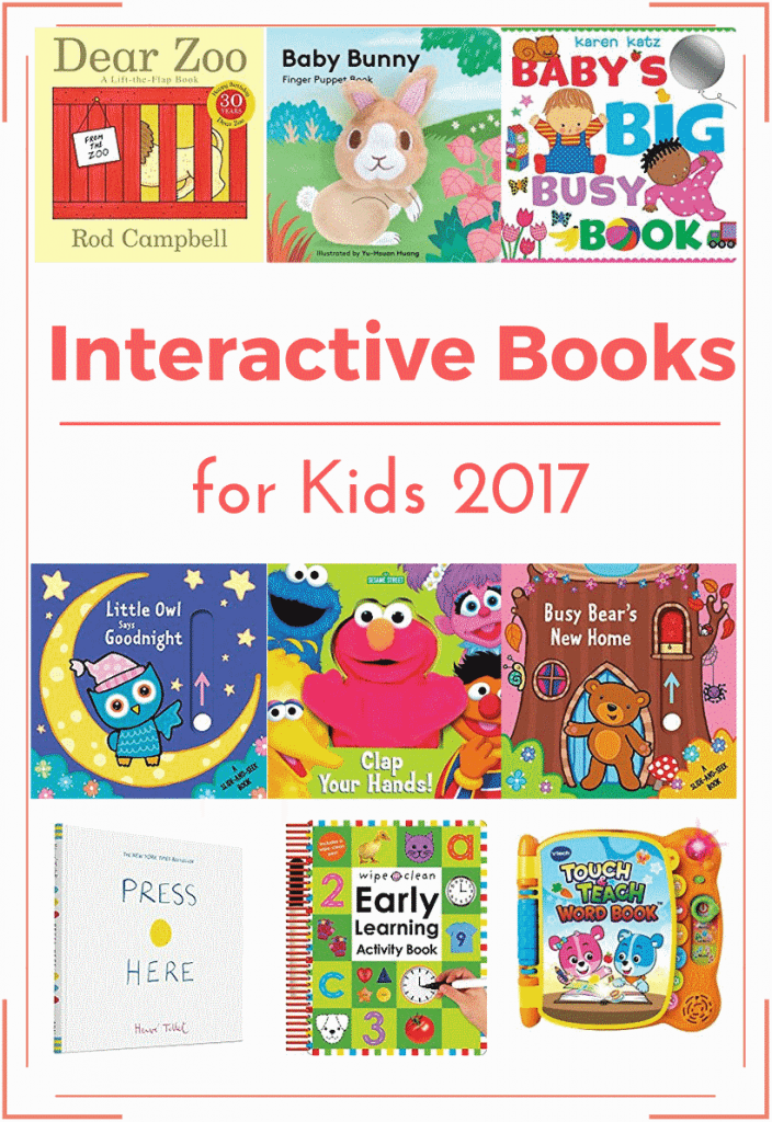 Interactive Books for Kids 2017